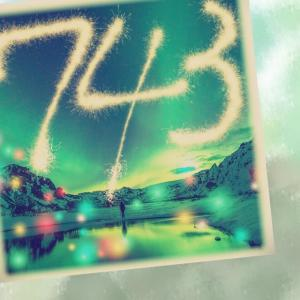 今日の数字 ☆ 743