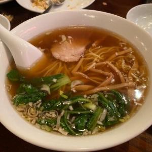 """-1210杯目- この歳でこれだけ食べられるのは誇ってもよいのかも…「泰興楼」の""""拉麺""""@東京駅"""