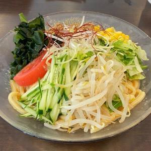 """-1359杯目- 初の病院麺「ビアンモール」の""""冷やし坦々麺""""@八千代台"""