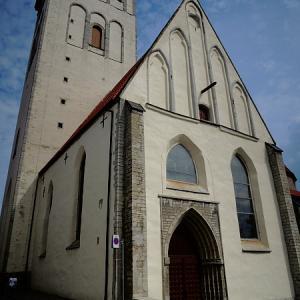 バルト三国一人旅(26)聖ニコラス教会「死の舞踏」