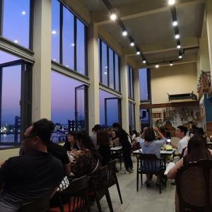 バンコク旅行記(12)ワットアルンの夜景、どこから見ようか