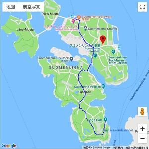 フィンランド旅行記(5)スオメンリンナ島、世界遺産の要塞を歩く