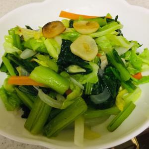 朝から、春野菜を食らう! うまい