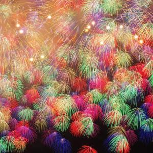 ソラ*2018*286日め(Fireworks.)
