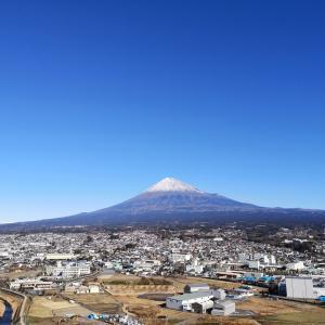 2021年元旦 富士山
