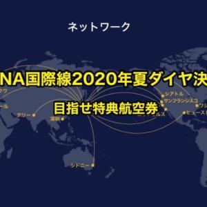 【特典航空券まつり】ANA国際線2020年夏ダイヤ決定|新規就航路線予約の一斉開始は特典まつり