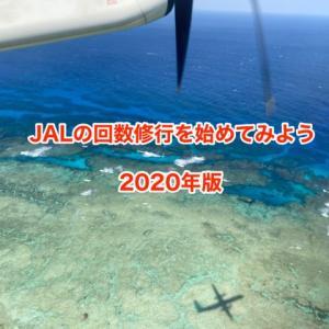 【JAL回数修行2020】唐突ですが2020年にJALの回数修行を始めてみました