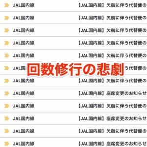 【回数修行の悲劇】JALの回数修行計画に新型肺炎が直撃するとこうなる