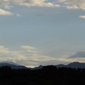 富士山、パウチ、足の冷え対策