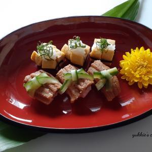 穴子の煮つめと玉の小寿司と届きました~♡♡