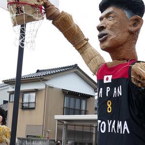 「中田のかかし祭2019」は「八村塁」祭だった!さすがは富山県の星!濃いキャラもたくさん!