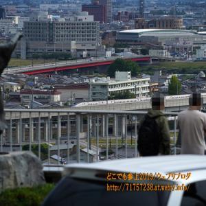 呉羽山の紅葉は未だ早かった!久しぶりのこの風景、富山の代表的な風景となっていた!