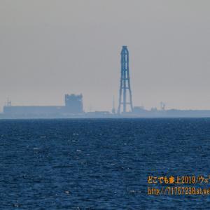 大きな変化に期待した日、魚津の蜃気楼はかろうじて形を変えてくれたが・・・。