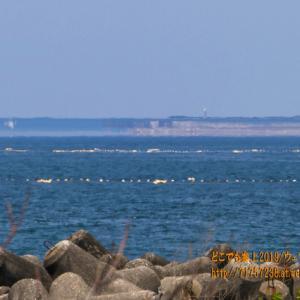 Bランクの蜃気楼を「海の駅」以外で見てみる。御旅屋跡(おたやあと)と滑川市荒俣