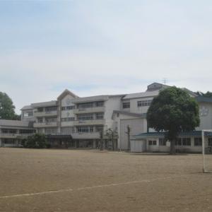 今日の北厨川小学校と厨川駅