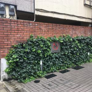 恵比寿の煉瓦塀  渋谷区恵比寿