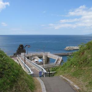 元和台海浜公園 「海のプール」 乙部町元和