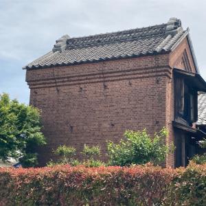 垳川付近の煉瓦造の蔵  八潮市浮塚