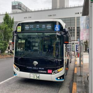 FUEL CELL BUS  千代田区神田相生町