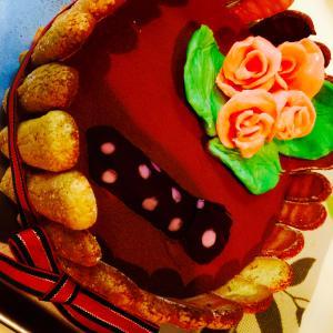 父の日ティラミスのビスキュイケーキ