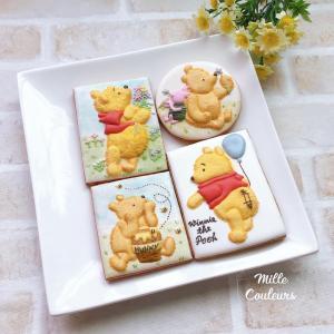 プーさん3Dクッキー&羽生選手MVS受賞おめでとう!