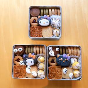 【レポ】ハロウィンクッキー缶レッスン