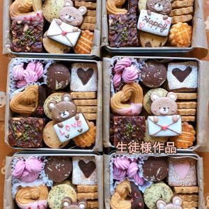 【レポ】バレンタイン直前クッキー缶レッスン