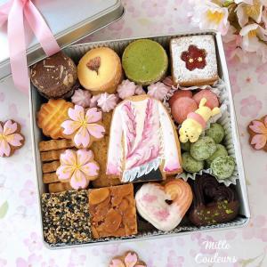 羽生選手モチーフ春のクッキー缶