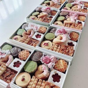【レポ】桜クッキー缶レッスン