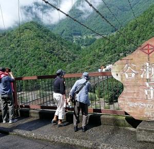 谷瀬の吊橋 橋!!! 超スリリングな橋 奈良県吉野郡十津川村