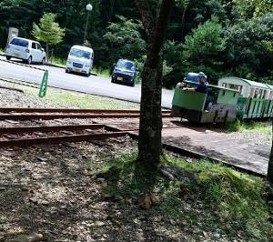 トロッコ電車(坑内電車) 湯の口温泉 列車◎ 2位 三重県熊野市