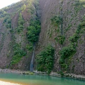 古座川の一枚岩 川・滝・他! 天然記念物 和歌山県東牟婁郡古座川町