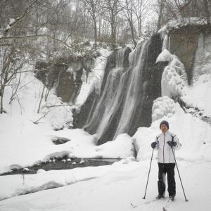 暴風雪が来る前にクラシカルスキー