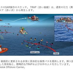 Nature トピックス; 隠れたフロー構造によって支援された海上での捜索と救助