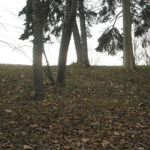 モエレ山公園冬間近その2