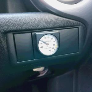 温度計マイナス4℃のスターター