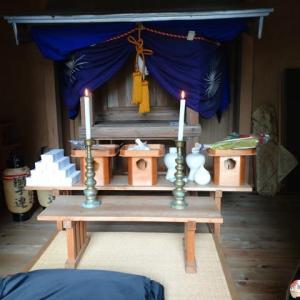 八幡宮  地味な神事で例大祭