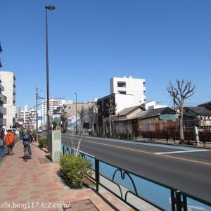 【足立区を歩くその1】千住桜木の尾竹橋通りを歩く