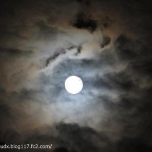 【自宅のベランダから】令和3年の中秋の名月、満月!