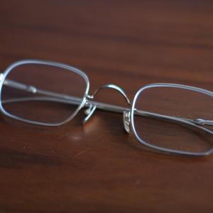【ファッション】Lunor(ルノア)のメタルフレームメガネを新調