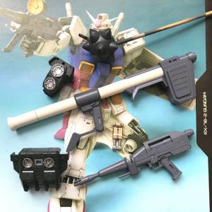 MG ガンダム Ver.ONE YEAR WAR 0079製作2/フレーム、武器の塗装