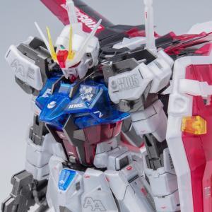 MG ガンダムベース限定エールストライクガンダム Ver.RM[クリアカラー]完成!