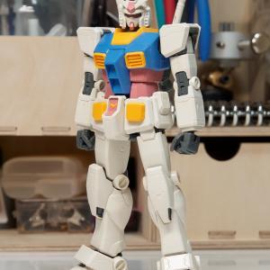MG ガンダム Ver.ONE  YEAR WAR 0079製作1/仮組み