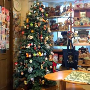 テディベアテラス12月始まりました。*YumiCafe*もクリスマス仕様でお待ちしています。クリスマスギフトあふれてます♪
