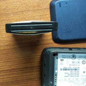 ポケットwi-fiのバッテリーが大変なことになりました(T_T)