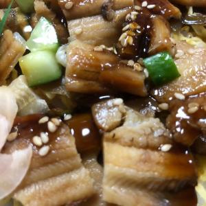 煮込み穴子ちらし寿司(量も丁度よくウマいわ!)
