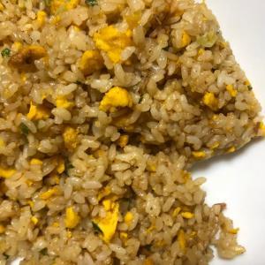 極上炒飯(冷凍食品のチャーハンはガチガチで旨い!)