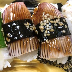 いかづくしにぎり寿司(いか好きな自分にはたまらない!)