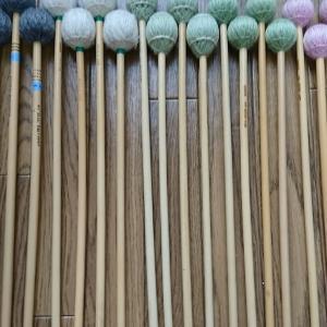 私のマレット紹介第2弾 毛糸・絹糸巻きマレット