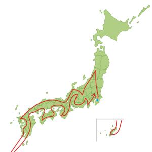 横浜から東京、東京から千葉へ、千葉から埼玉へ